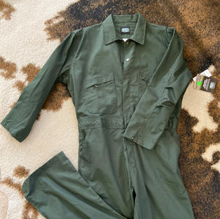 Key - Long-Sleeve Coverall Green