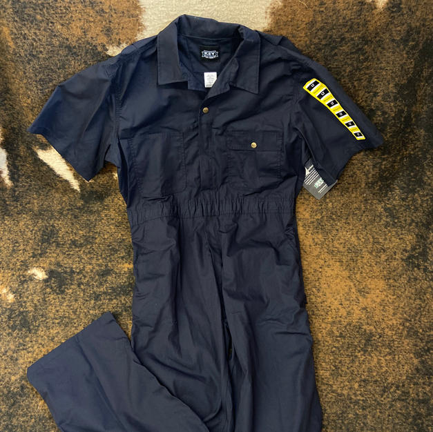 Key - Short-Sleeve Coverall Navy