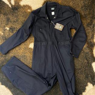 Key - Long-Sleeve Coverall Navy
