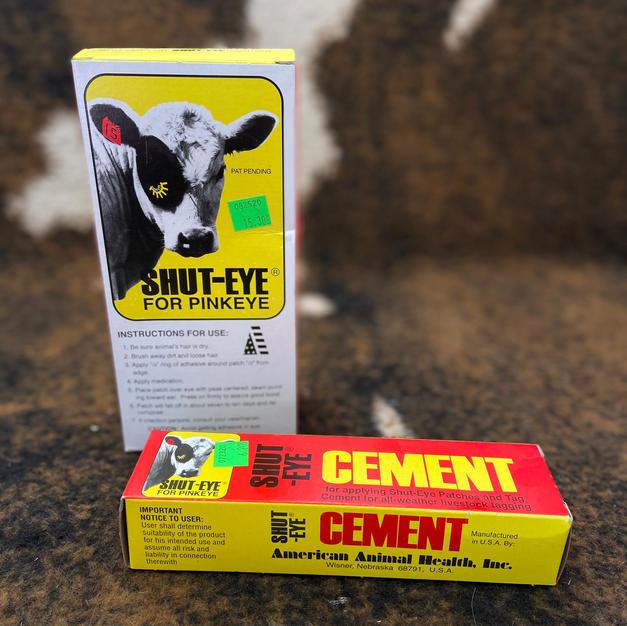 Shut-Eye Patches & Cement