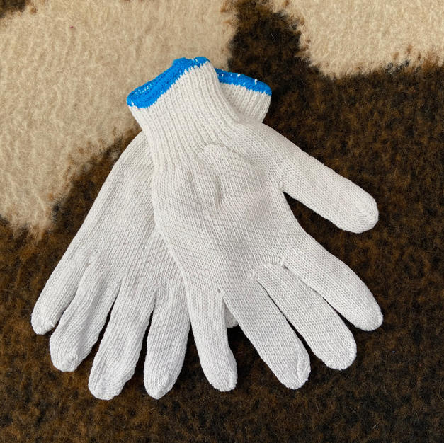 Knit String Glove