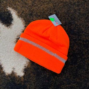 Scotchlite - Reflective Orange Stocking Hat