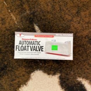 Automatic Float Valve