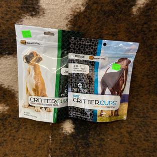 Critter Cups Dog Treats