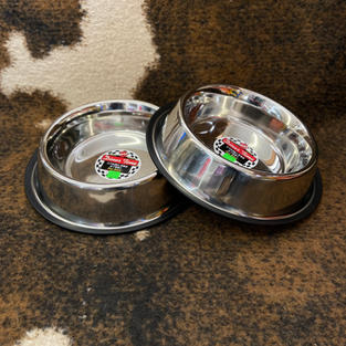 Stainless Steel No-Tip Food Bowl