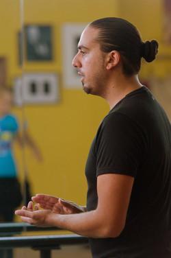 """Clases de baile con José Cortés """"El Indio"""""""