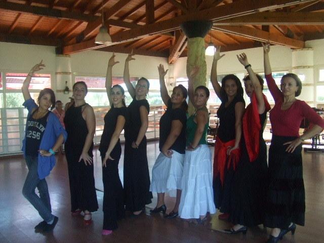 Intensivo de baile en Casablanca , Marruecos