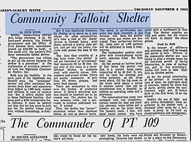 Lewiston Evening Journal Nobember 2 1961