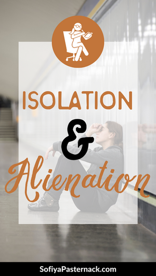 CHARACTER THERAPY | Social Isolation and Alienation