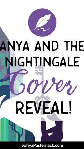 Anya and the Nightingale COVER REVEAL!!!