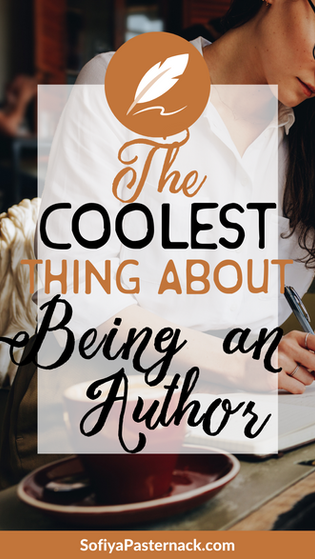 The Coolest Thing About Being an Author