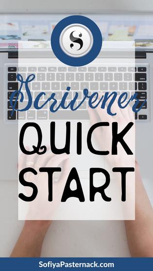 TUTORIAL | Scrivener 3 Quick Start