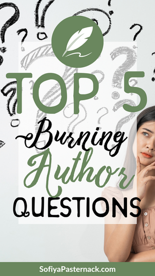 Your TOP FIVE Burning Author Questions Answered