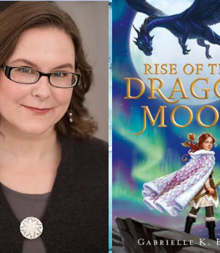 Gabrielle K. Byrne: Rise of the Dragon Moon
