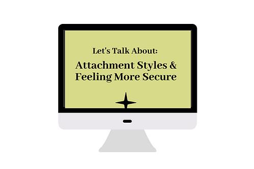 Attachment Workshop