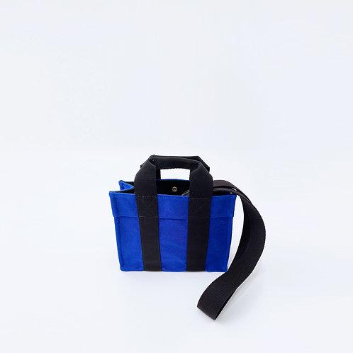 TOTE XS- Blue Flannel