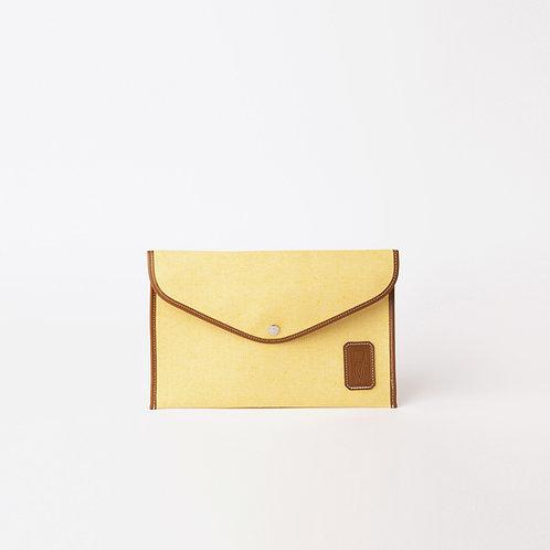 ENVELOPPE M - Yellow Oxford