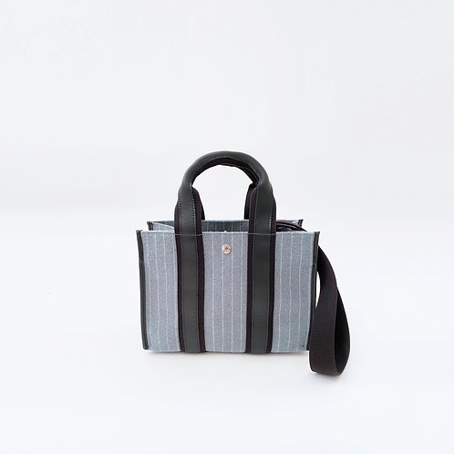 UPPER EAST S - Blue Striped Flannel