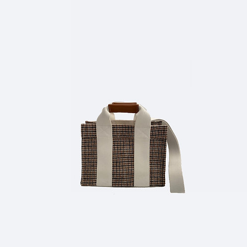 TOTE XS - Camel Houndstooth
