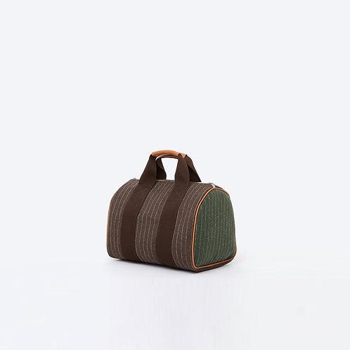 PÉRIPLE M- Striped Brown/kaki Flannel