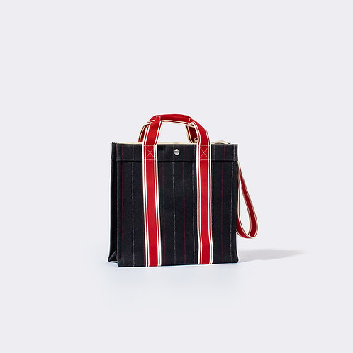 COURSE TOTE  - Flannel Suit NAVY
