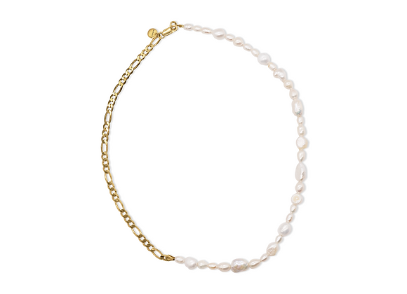PERLENGOLD KETTE IN CHAINS JEWELRY