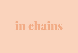 in chains jewelry