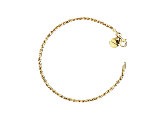 Goldenes Armband in chains jewelry