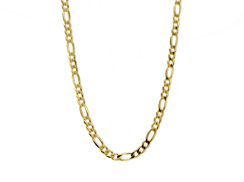 FIGARO NECKLACE GOLD IN CHAINS JEWELRY