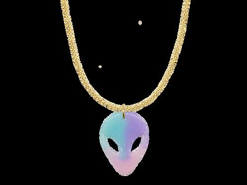 Kette mit Alien