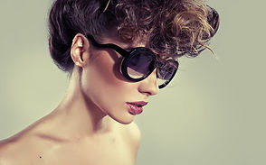 Model in Sunglasses