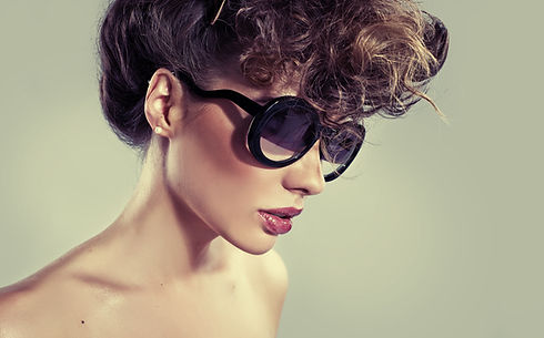 Model in Sunglasses
