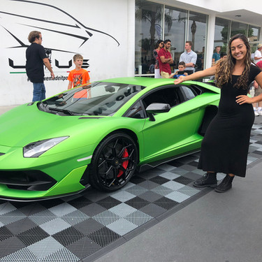 Cars & Coffee Event at Lamborghini Newport Beach