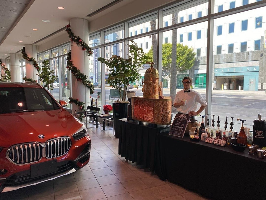 Serving at BMW Beverly Hills