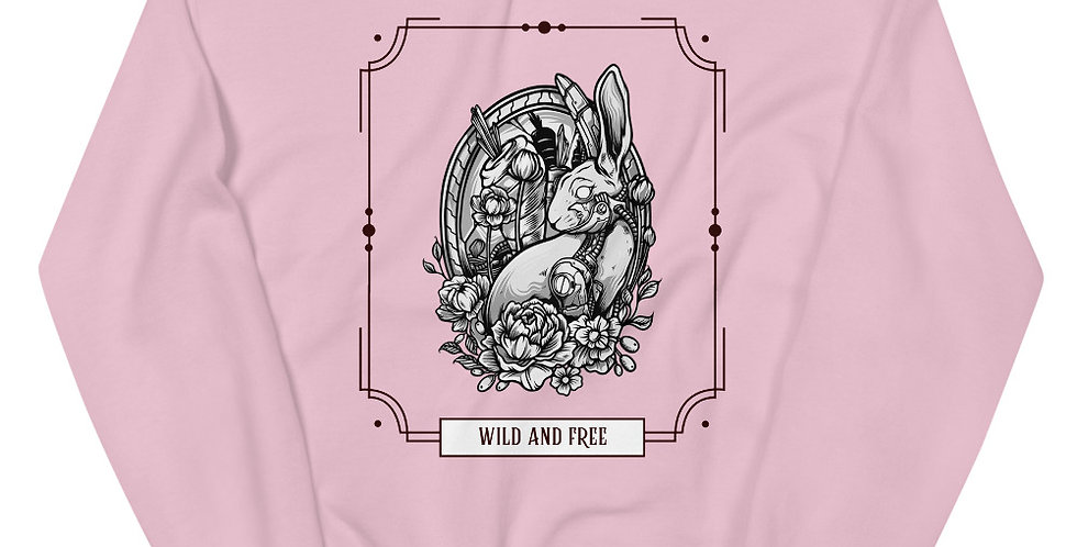 Wild and Free Unisex Sweatshirt