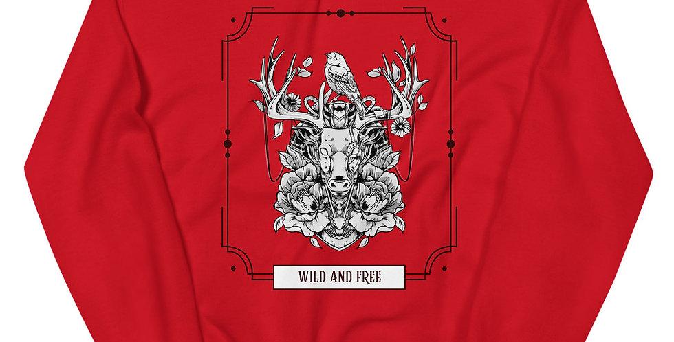 Wild and Free Unisex Sweatshirt