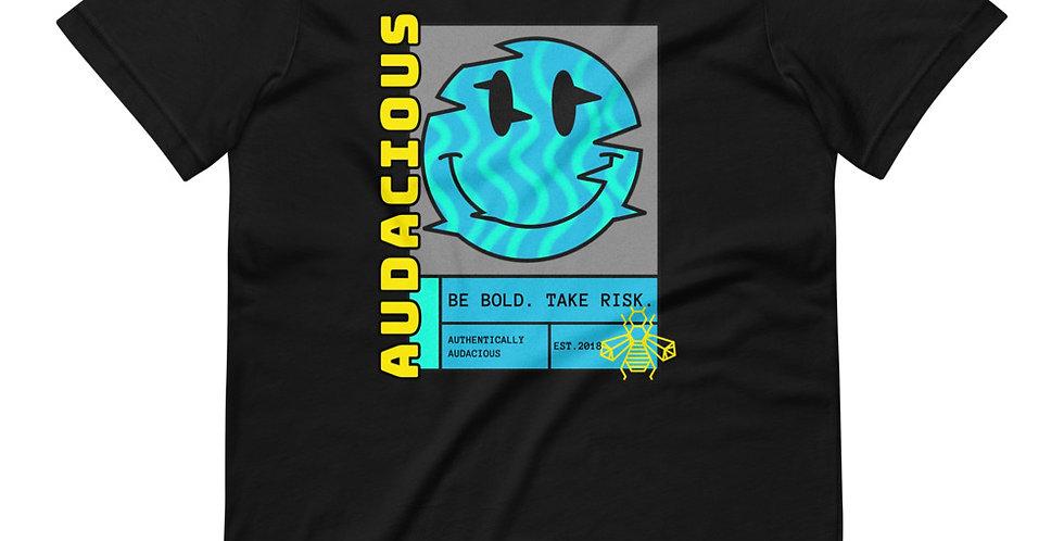 Smiley Glitch Unisex T-Shirt