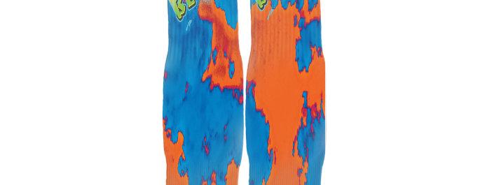 Orange Acid B.B.T.R. Streetwear Socks