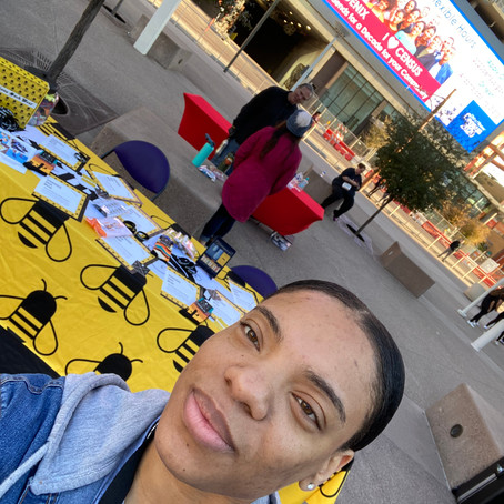 BEE Daring Foundation 5K at Talking Stick Resort Arena. Just wanted to share some pics with y'all!