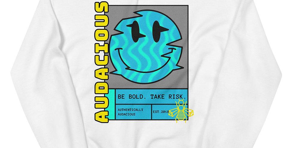 Smiley Glitch Unisex Sweatshirt