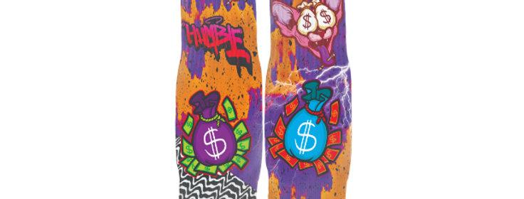 Money Sphynx Streetwear Socks