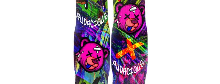 Dead Beary Streetwear Socks