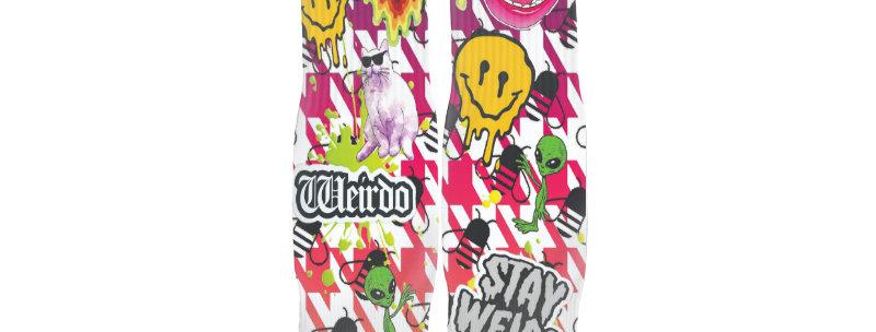 A.S.W. Weirdo Streetwear Socks
