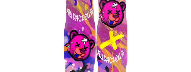 Purple Beary Streetwear Socks