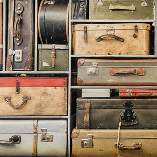 復古行李架中