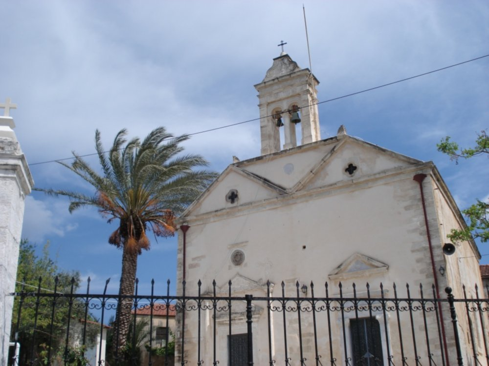 Church with bell tower