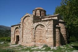 Byzantine church in orange grove
