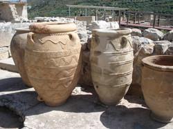 Pithoi at Knossos