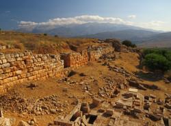 Roman walls at Aptera