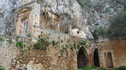 Katholicon deserted monastery